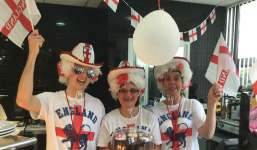 Telford set to fly the flag for England