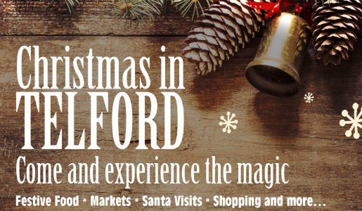 Inspiration to make your Christmas in Telford great