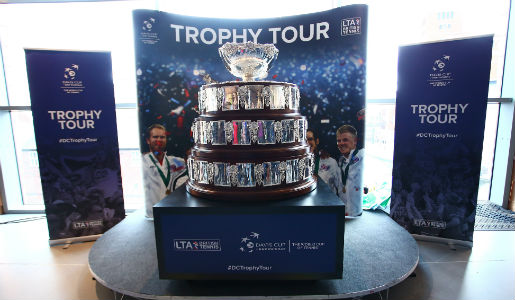Davis Cup heads to Telford following historic win