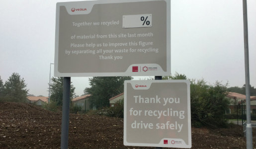 Recycling centres change from Monday October 3