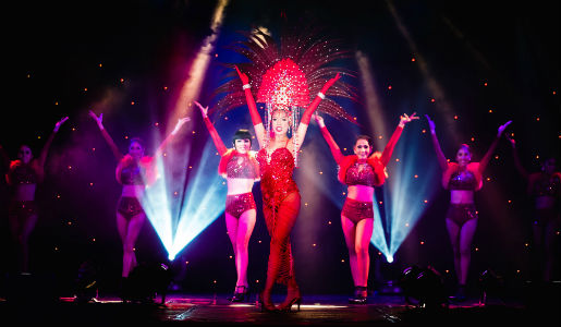 Prepare to be amazed with some far eastern cabaret