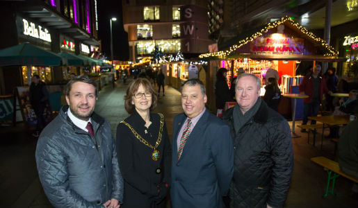 European Christmas Market open for business