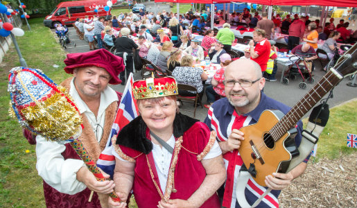 Street Party for The Queen's 90th birthday
