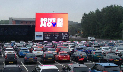 One week to go until Drive in Movie returns to Telford