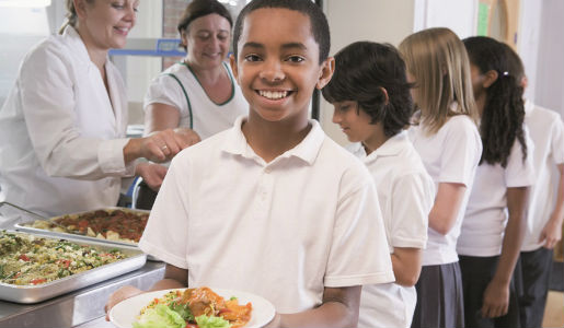 Pupils in Telford schools dining in unusual locations