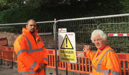 Investigations taking place to repair historic culvert
