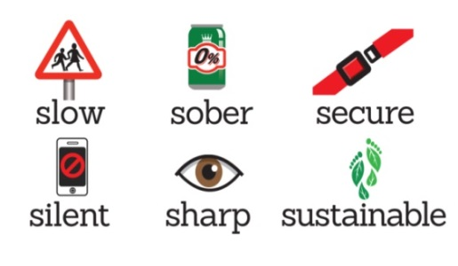 'Be Bike Smart' and 'Be a Mate' are the themes for road safety week