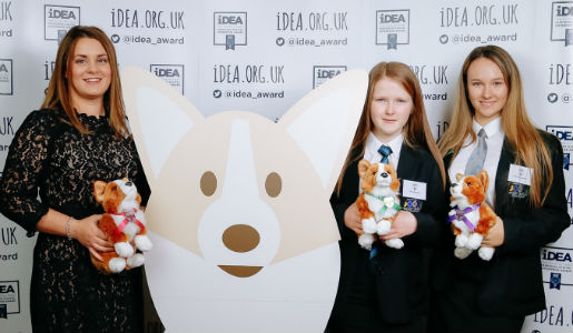 Two Telford schools attend the launch of iDEA Silver Award in London