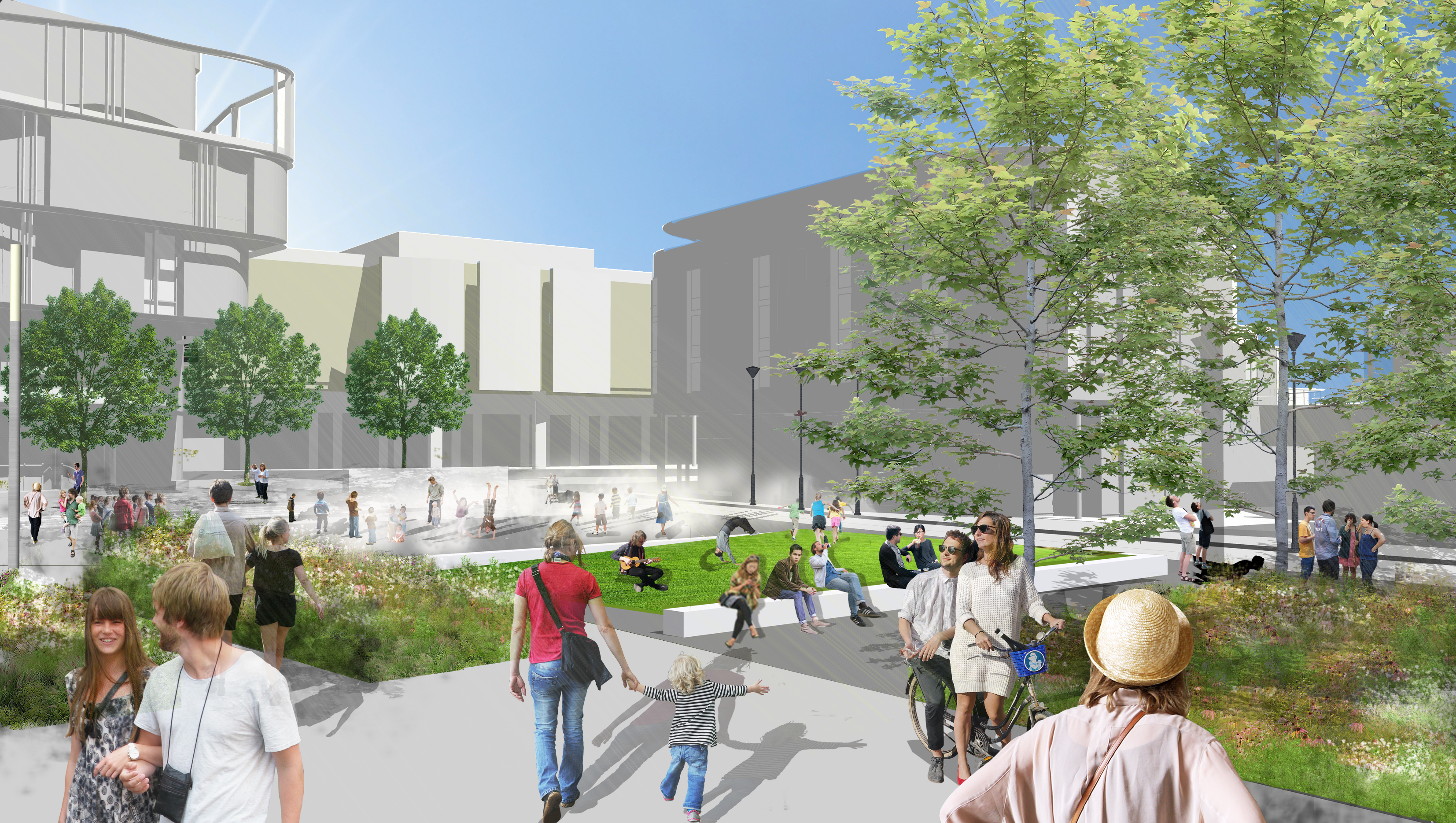 Detailed designs for new Southwater Square revealed