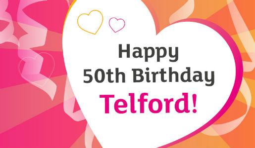 Happy 50th Birthday Telford!