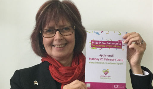 New grant funding for community events