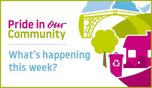 Pride In Our Community improvements - week beginning 15 April 2019