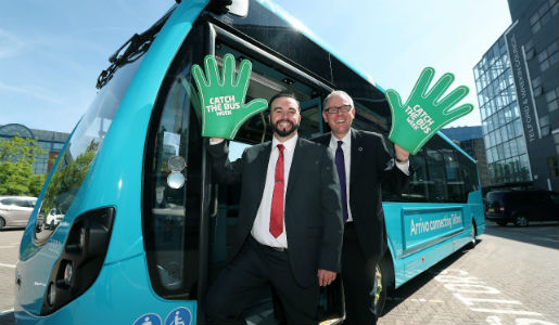 Telford pledges to strengthen travel and tourism during Catch the Bus Week