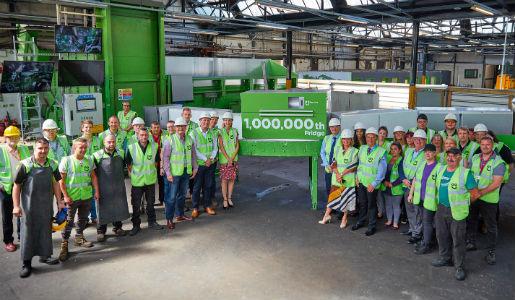 Borough business' recycling landmark