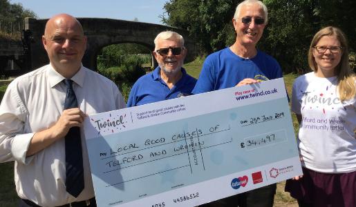 Telford and Wrekin Community Lottery celebrates its first anniversary