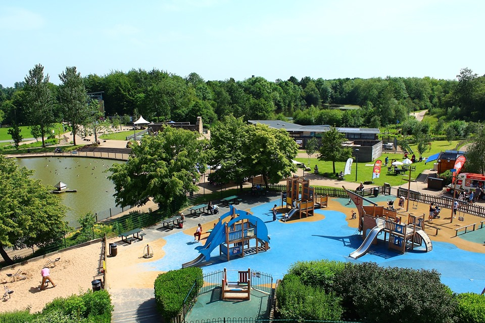 Is Telford Town Park your Choice?