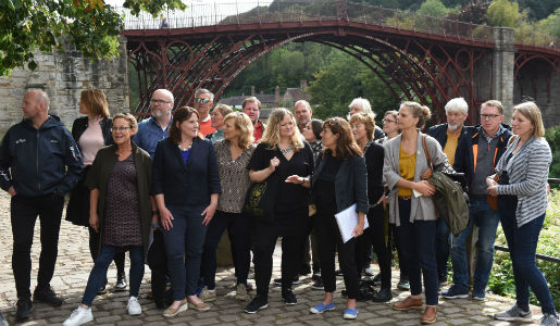 Ironbridge welcomes Norwegian tourism leaders