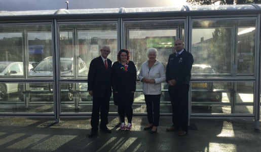 Oakengates Bus Station gets new look