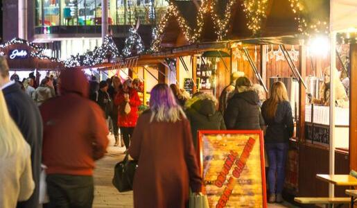 Telford Christmas market returns