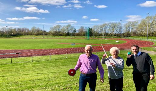 Track improvements begin at Telford's Athletics Stadium ahead of Commonwealth Games