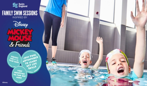 Disney Inspired Family Fun Swimming Sessions return to Telford pools