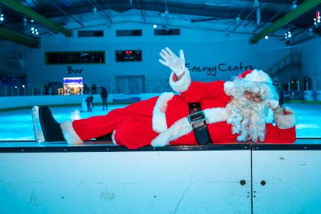 Santa Skate returns to Telford Ice Rink this weekend