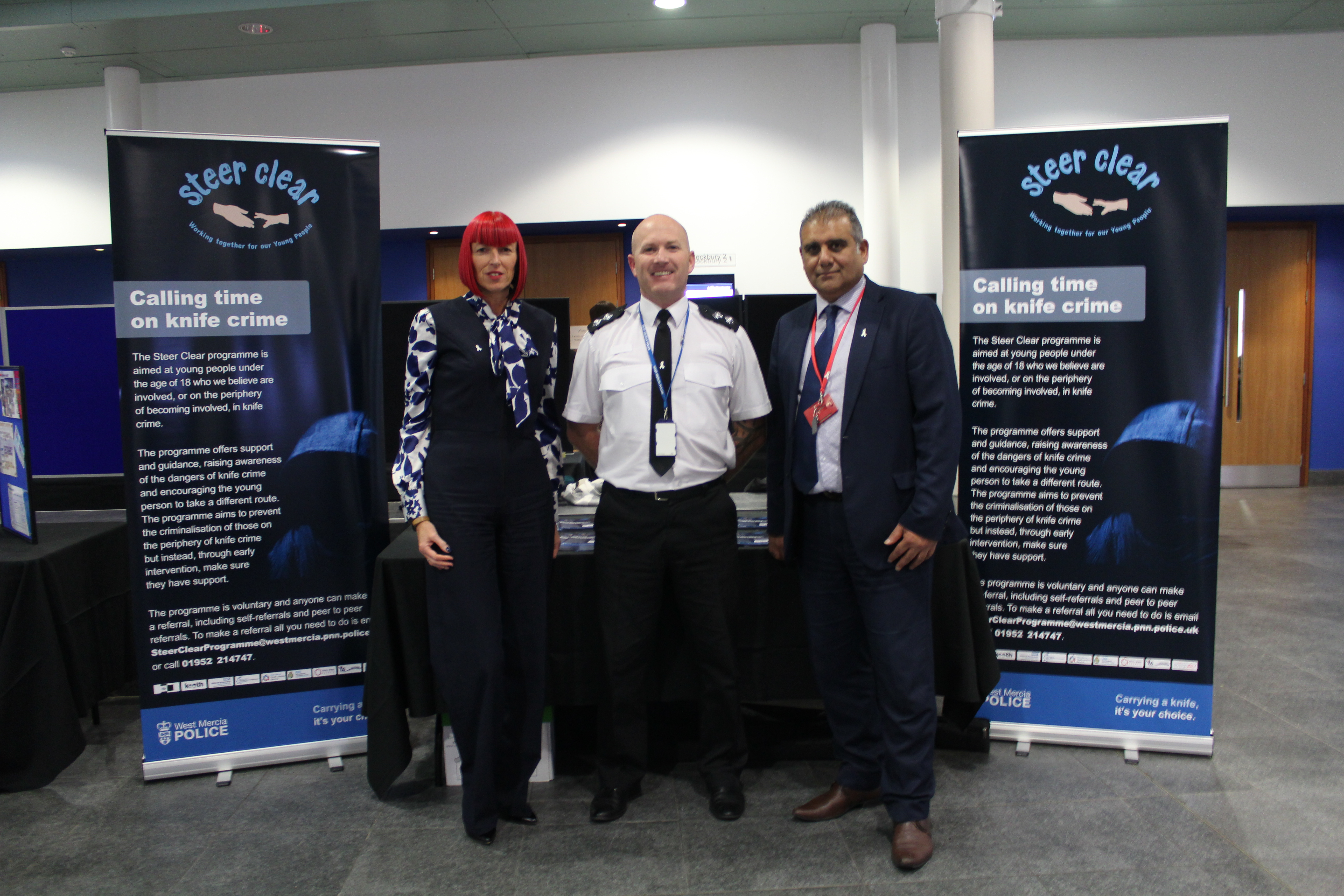 Working together to reduce serious violent crime in Telford