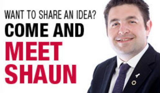 Next Meet Shaun event at Wellington Orbit