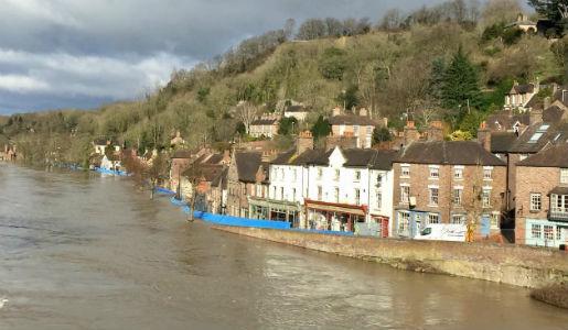 Ironbridge Gorge flooding update 26 Feb