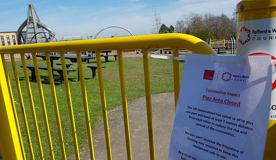Coronavirus update, 23 March 2020: play areas, public toilets and Southwater multi-storey car park closures