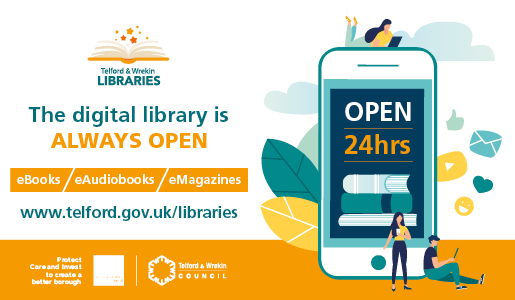 Telford & Wrekin Libraries see 'incredible rise' in online library use