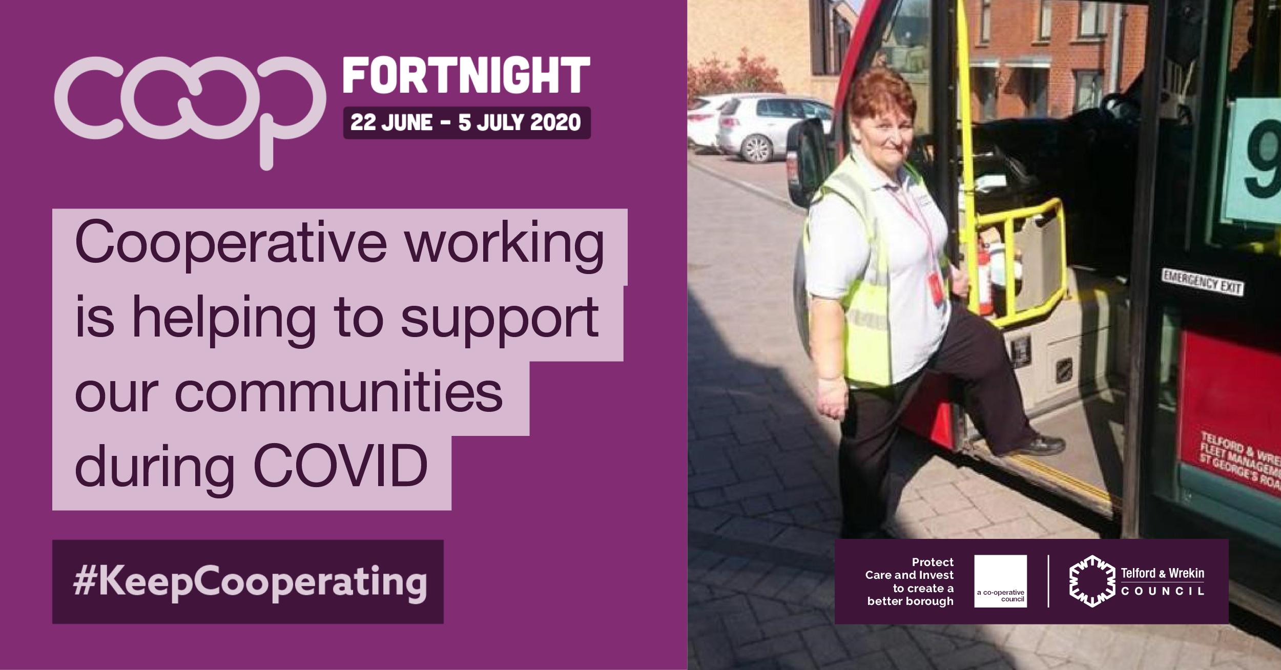 Council celebrates Co-operative Fortnight