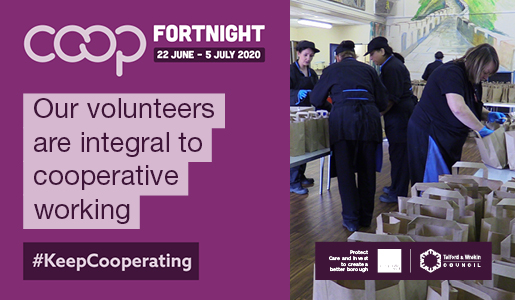 Volunteering is integral to cooperative working