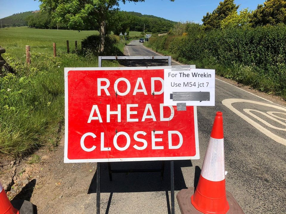 Road Changes at The Wrekin
