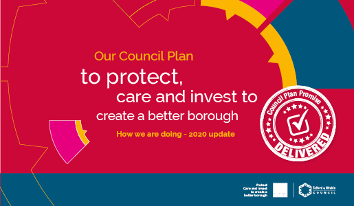 Council Plan is delivering a better borough for residents and businesses