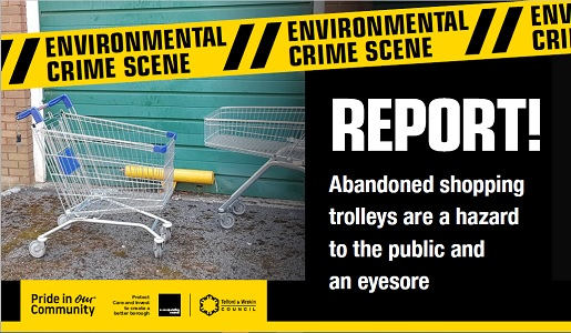 Council urges supermarkets to do more to tackle dumped shopping trolleys