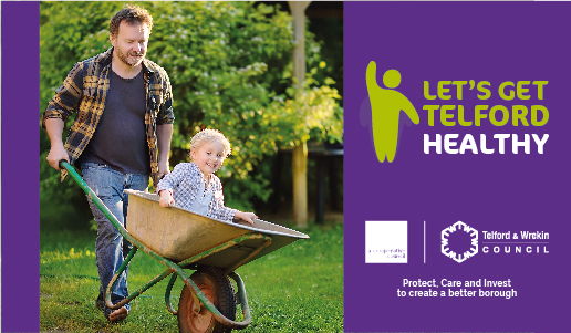 Let's Get Telford Healthy launched to help people to get fit and well during the pandemic