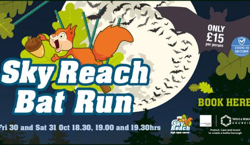 Bat Run is back at Telford Town Park this Halloween!