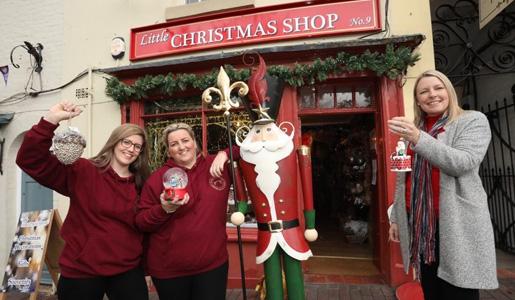 Christmas comes to Ironbridge