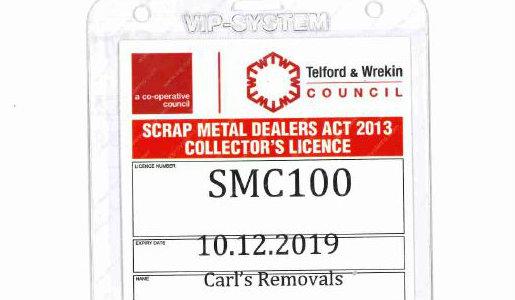 Council crackdown on rogue scrap metal dealers
