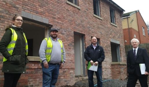 4C Homes are the latest business to join council's advertising scheme.