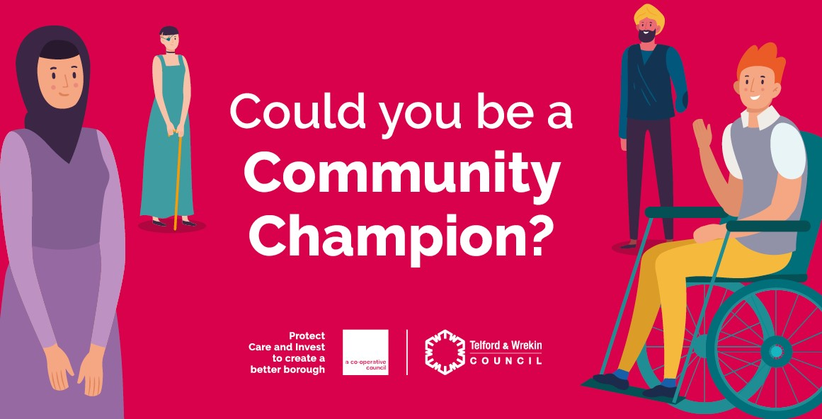 Council recruits Community Champions to support those most at risk from COVID-19