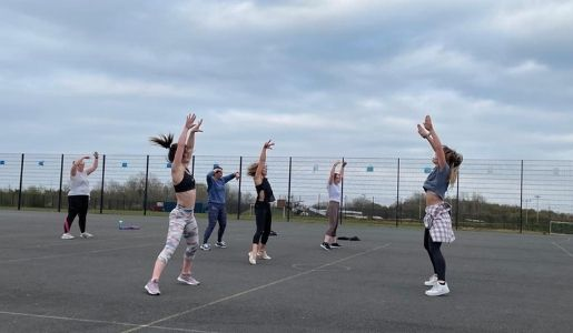 Outdoor fitness classes now available