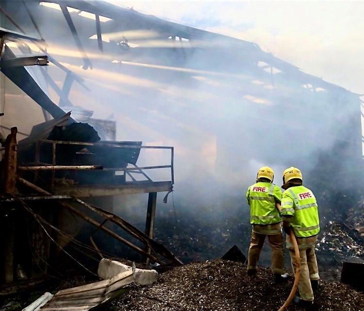 Fire latest - Update 5.39pm Sunday 9 May