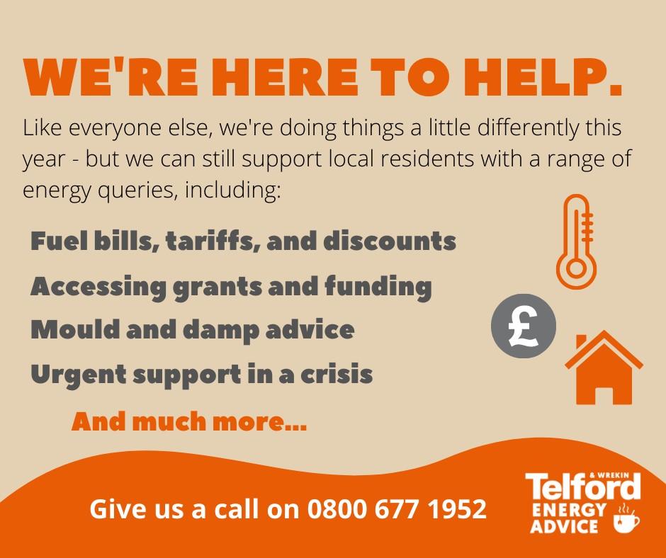 Information on Energy Grants in Telford and Wrekin