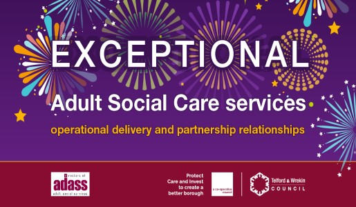 ADASS Peer Review finds Adult Social Care Services 'exceptional' at Telford & Wrekin Council