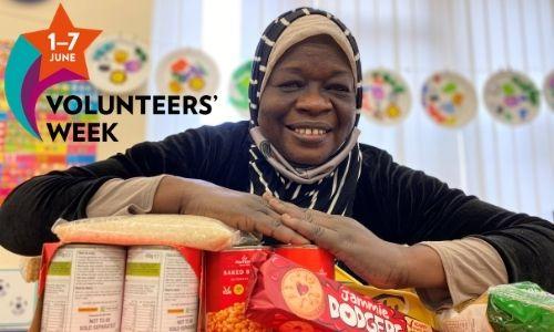 Volunteering – a lifeline for family from war-torn Sudan