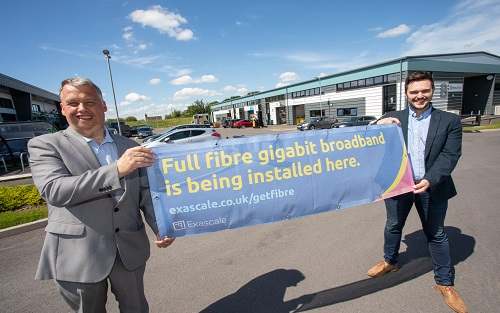 Marches & Gloucestershire Business Broadband Grant Scheme appoints local firm Exascale to install full fibre broadband scheme for Telford businesses