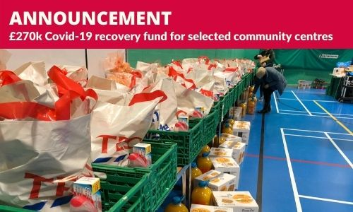 Council announces £270k Covid-19 recovery fund for selected community centres