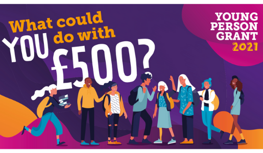 Grants of £500 available to young people